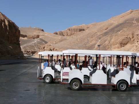 After docking at Luxor, we headed to the Valley of the Kings...