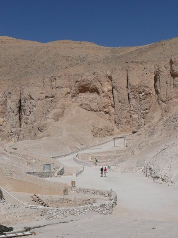 There were 62 tombs discovered in Valley of the Kings, and perhaps still more to be found...