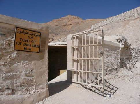 The most famous tomb is that of the child king Tutankhamen