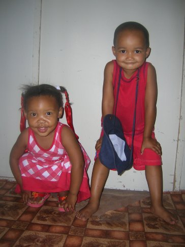 Two of my darling little neighbours