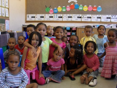 The rest of the pre-school class