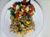 The salad, plated: by sibillafoxton, Views[155]