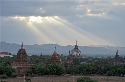 Their love is seen in beautiful Bagan, of shrines and pagodas