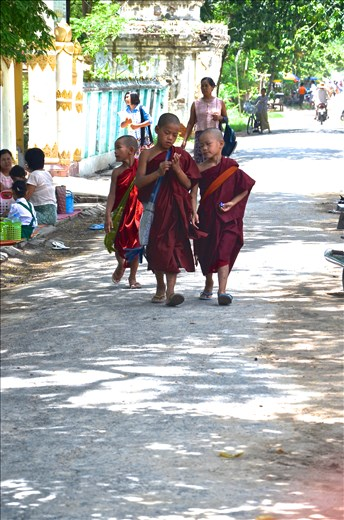 Almost every burmese would have lived in a monastery in their life time