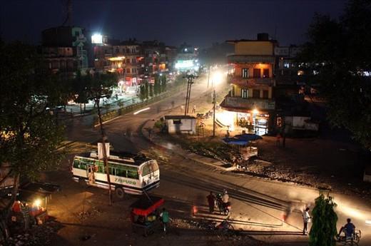 First night in Nepal Mahendranagar