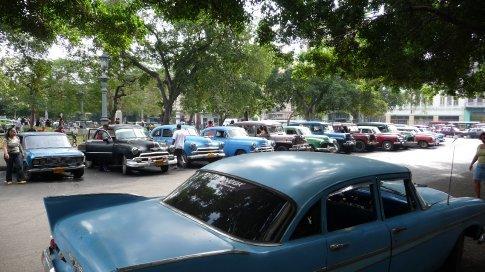 Old american cars pre 1959 in Havana
