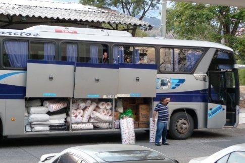 The bus to Hondurus