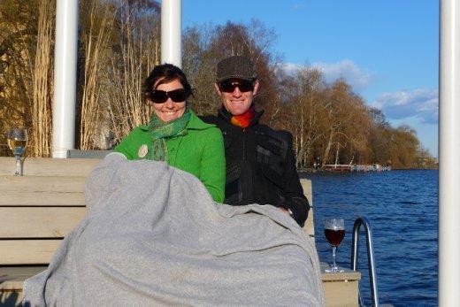 Afternoon drinks on Kungsholmen