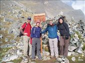 The salkantay saddle and highest point of the trek: by simon_castles, Views[316]