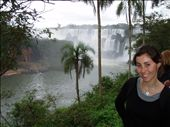 A short brown haired girl at the falls: by simon_castles, Views[488]