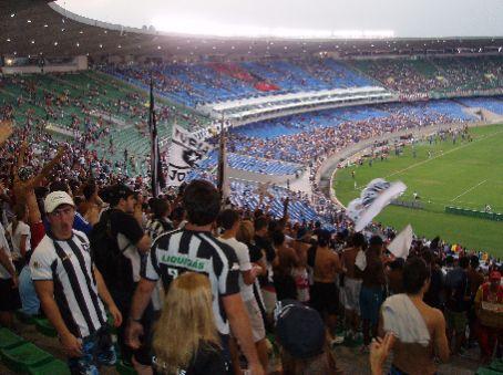 Maracana stadium, botofogo fans