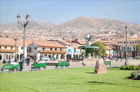 Centre of Cuzco