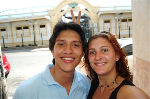 Andre and I in Guayaquil