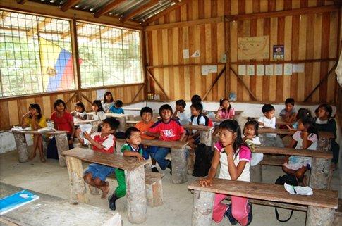 School at Juyuintza tribe- Ecuadorian Amazon