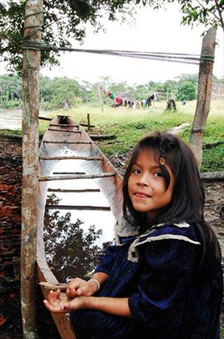 Sisi- Juyuintza tribal village- Ecuadorian Amazon