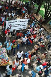 The indigenous march at the University of Valle, Cali, Colombia: by simonefrancis, Views[171]