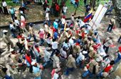 The indigenous march at the University of Valle, Cali, Colombia: by simonefrancis, Views[176]