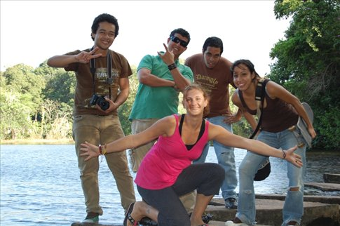 Couch Surfing with Blas and his family and friends in Ciudad Guayana,  Venezuela