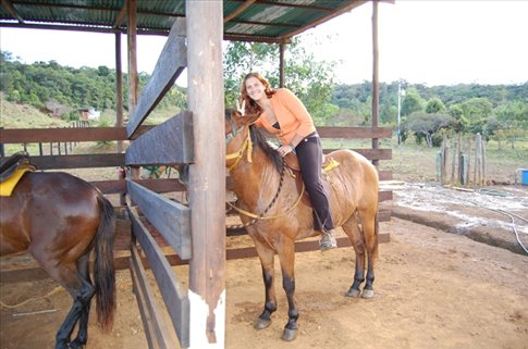 Horse Riding at Peace villages,Santa Elena,  Venezuela
