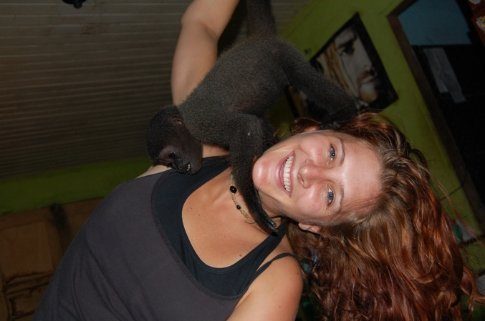Niko and I in Tefe, Brazil