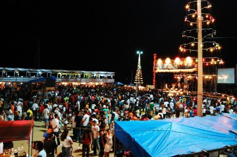 New years eve in Tefe, Brazil