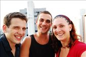 Bruno, Jerome and I at Bruno's place in Sao Paulo, Brazil: by simonefrancis, Views[354]