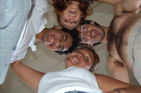 Me, Gabriel, Natalia and Mishko in Rio