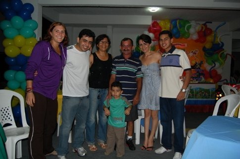 Francisco´s family and I in Manaus, Brazil