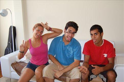 me, Caio and Claudio