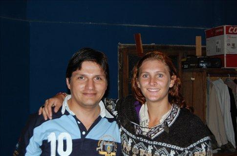 Christan and I in San Salvador de Jujuy