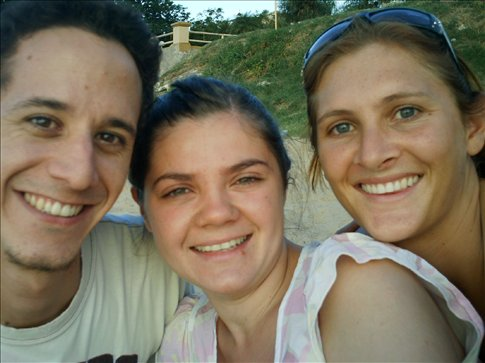 Diego, his friend and I in Corrientes