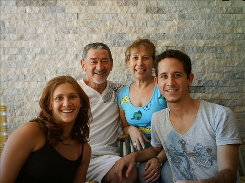Diego, his family and I in Formosa