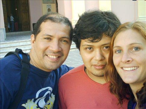 Martin, Ramon and I in Salta