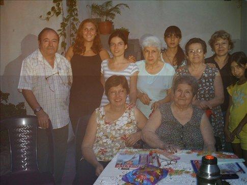 Mariana, her family and I in San Pedro de Jujuy