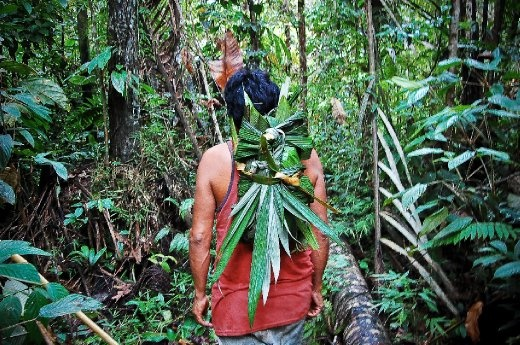 Shot in Ecuador's Amazon, demonstrates mans capabilities to create useful items such as backpacks, purely from nature.