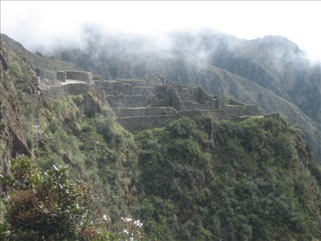View along the Inca Trail