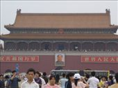 Mao's picture above the entrance to the Forbidden City: by simsy, Views[158]