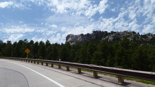 Views from the Gold Wing ~ Mt. Rushmore