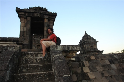 Me in front of Candi