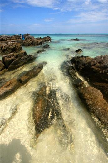 Rocks in Ujung Gelam