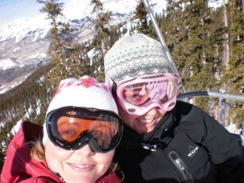 skiing Telluride