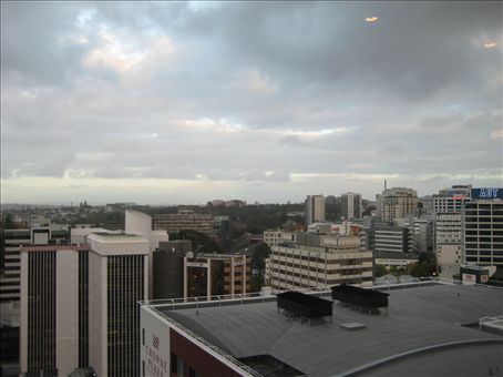 Auckland from my hotel room, exciting init!