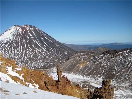 The stunning 'Mt Doom', part of the Tongariro Crossing