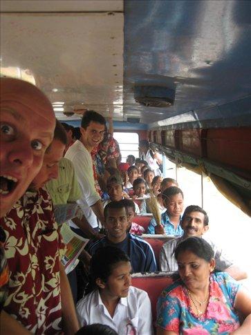 On the Malau bus!!! Aaaaaaargh!