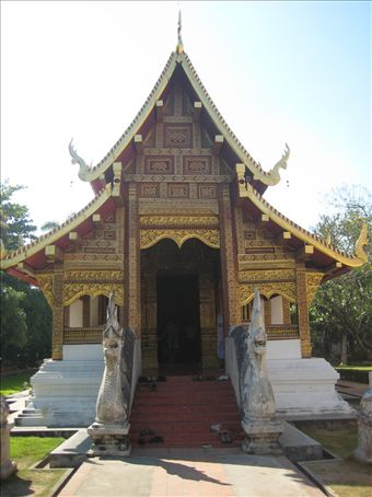 Wat Phra Singh, Chiang Mai old town.
