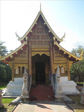 Wat Phra Singh, Chiang Mai old town.