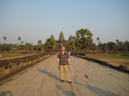 Me at Angkor Wat near Siem Reap