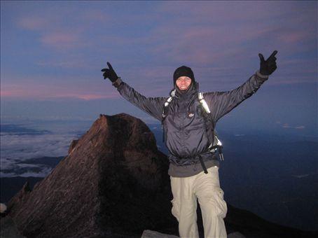 Woohoo! Stood on the roof of Borneo!