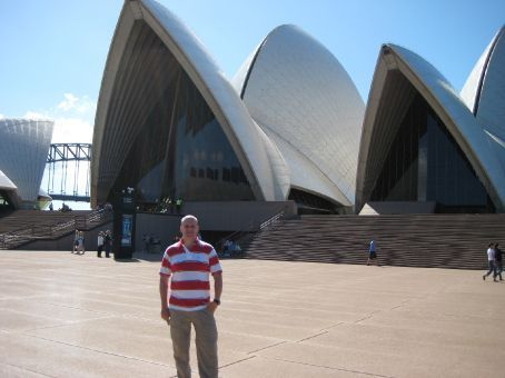 Me at the Sydney Opera House