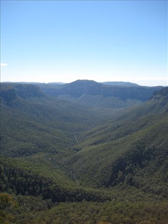 The Blue Mountains!